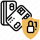 code, pin, protection, safety, secure icon