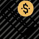 budget, money, pocket, purse, wallet icon