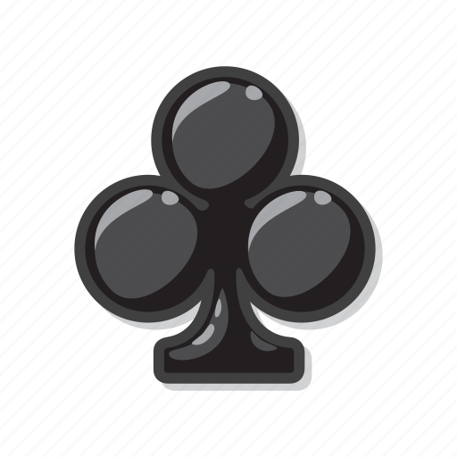 casino, clubs, gambling, playing cards, poker icon