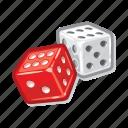 dice, gambling, casino, gamble