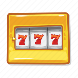 casino, gambling, jackpot, slot machine icon