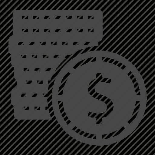 casino, coin icon