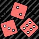 casino, entertainment, dices, poker, cubes
