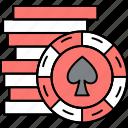 casino, entertainment, win, poker, chips