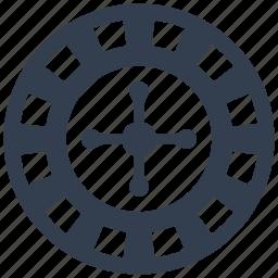 black jack, casino, gambling, wheel icon