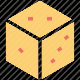 casino dice, cube, dice, gambling, game icon