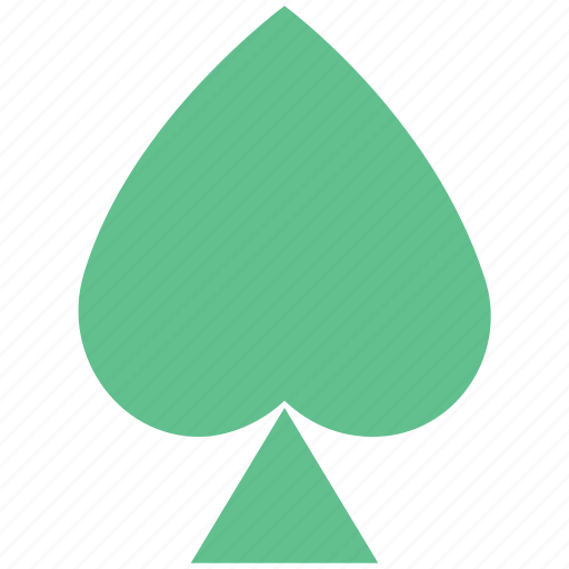 casino card, play card, poker, poker card, poker leaf icon