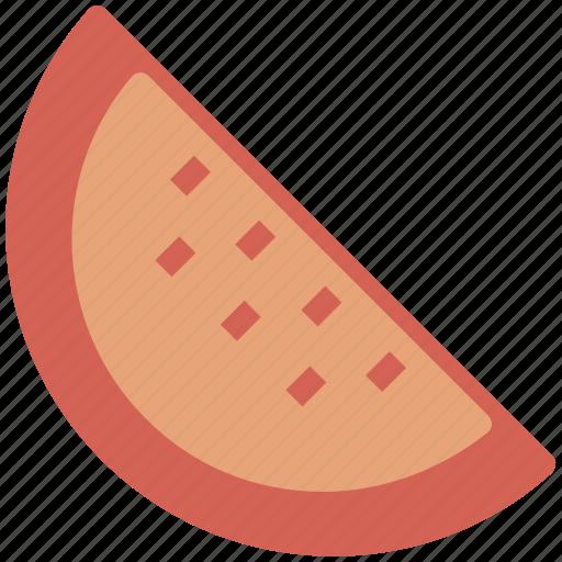 food, fruit slice, slice, watermelon, watermelon slice icon