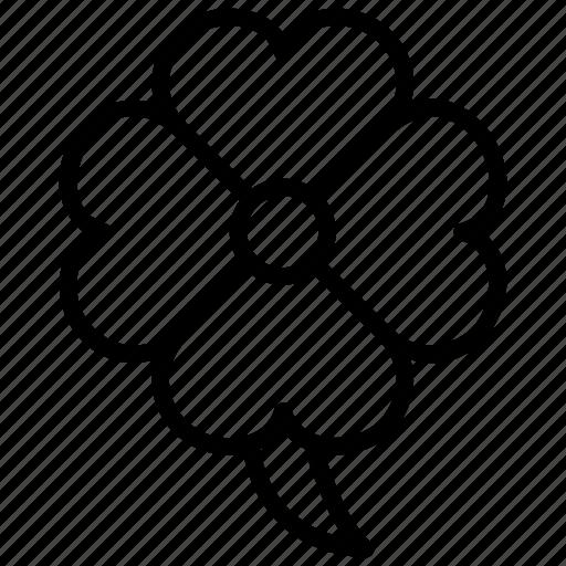 Clover, floral, flower, gardening, shamrock icon - Download on Iconfinder