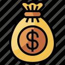 bag, bank, banking, coin, coins, money