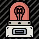 alarm, bulb, casino, flasher, light, lights, warning