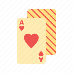 cards, casino, game, heart, luck, playing, poker icon