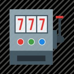 casino, gambling, jackpot, machine, seven, slot, winner icon