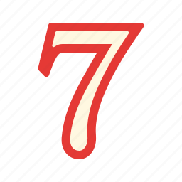 casino, game, lucky, number, seven, triple, win icon