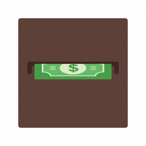 bills, casino, gambling, machine, money, poker, slot icon