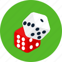 casino, dice, poker, slot icon