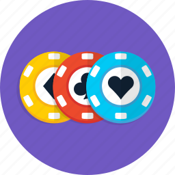 casino, chip, gambling, poker, slot icon
