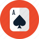 casino, poker, slot, spades icon