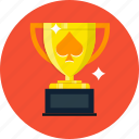 casino, poker, slot, trophy icon