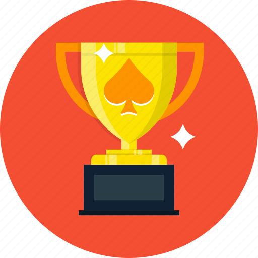 casino, poker, slot, trophy icon