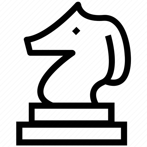 chess, chess knight, chess piece, horse chess, knight, piece icon