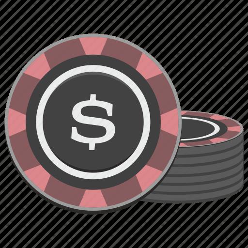 casino, chip, chips, gamble, gambling, money icon