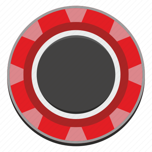 casino, chip, gamble, gambling, game, red, roulette icon
