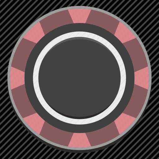 casino, chip, gamble, gambling, game icon
