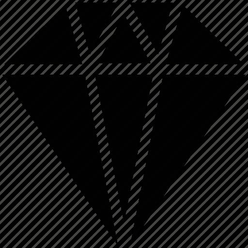 diamond, gem, stone icon