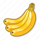 bananas, casino game, gambling, slot icon