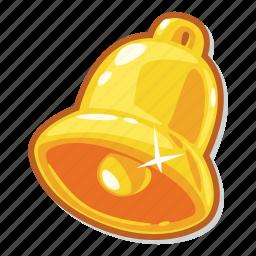 bell, casino game, gambling, slot icon