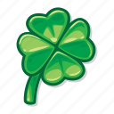 casino game, clover, gambling, lucky, slot icon