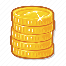 casino, coins, gambling, money icon