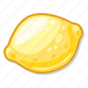casino game, gambling, lemon, slot icon