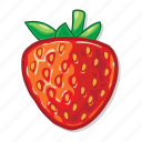 casino game, gambling, slot, strawberry icon