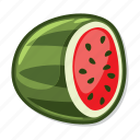 casino game, gambling, slot, watermelon icon