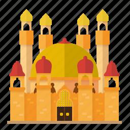 alhambra, architecture, building, castle, fortress, medieval, moorish icon
