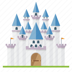 architecture, building, castle, fairytale, fortress, medieval, palace icon