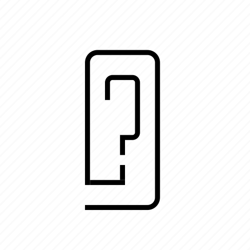 battery, missing, power, question icon