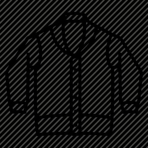 cardigan, casual, sweater, warm, wear, wool icon