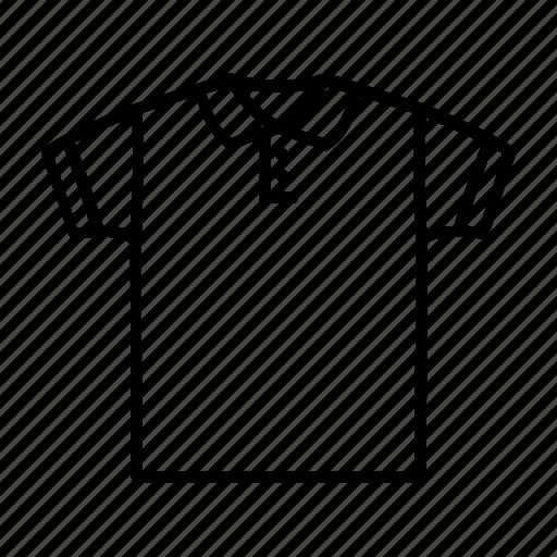 casual, collar, polo, shirt, t-shirt, wear icon