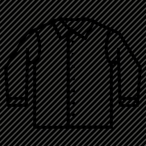 apparel, casual, collar, shirt, wear icon