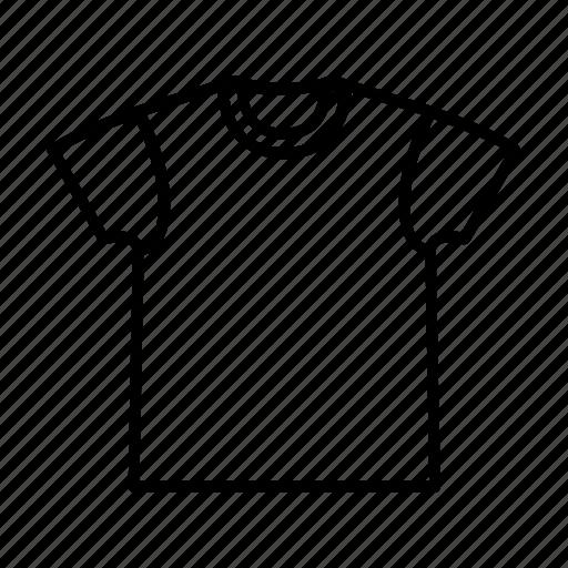 casual, fabric, shirt, t-shirt, wear icon