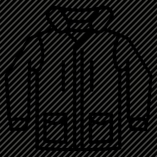 alaska, hood, jacket, parka, warm, winter, wool icon