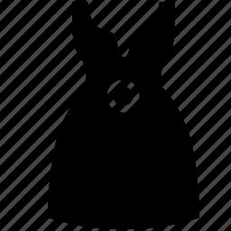 dress, evening, fat, figure, lady, wear icon