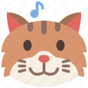 cat, emoji, emotion, feeling, happy, pet, smile
