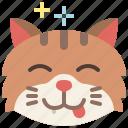 animal, cat, emoji, emotion, feeling, pet, yum