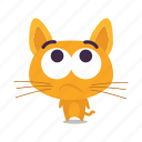 cat, confused, emoji icon