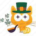 cat, emoji, lucky icon