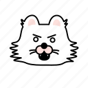 anger, cat, character, emoji, mad icon